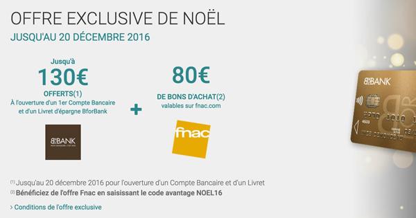 BforBank Fnac Noel16
